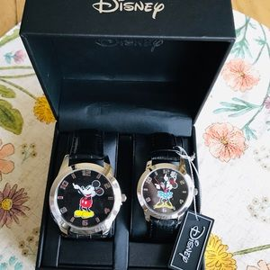 Disney authentic his and hers watches